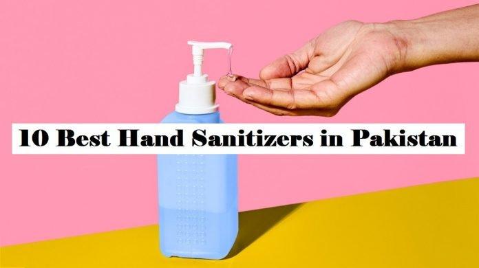 Best Hand Sanitizers Pakistan